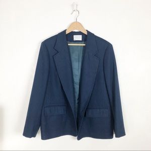 Pendleton navy blue blazer jacket